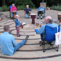 Drumming in the Labyrinth