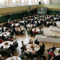 Cornwell Center Gym Dinner & Speaker Event