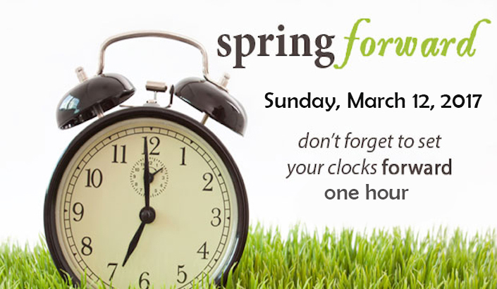 Image result for clocks ahead 2017